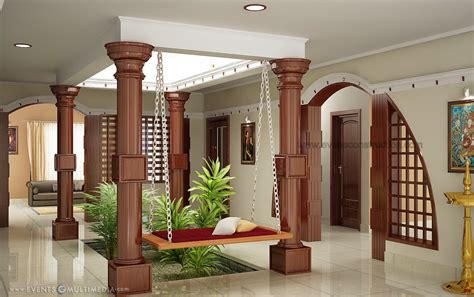 evens construction pvt  courtyard  kerala house