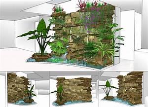 mur vegetal interieur une decoration interieure remarquable With maison en palette plan 12 comment faire un mur en bois de palette mzaol