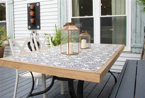 diy tile tabletop casuable everyday blog