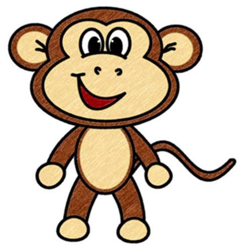 draw cartoons monkey