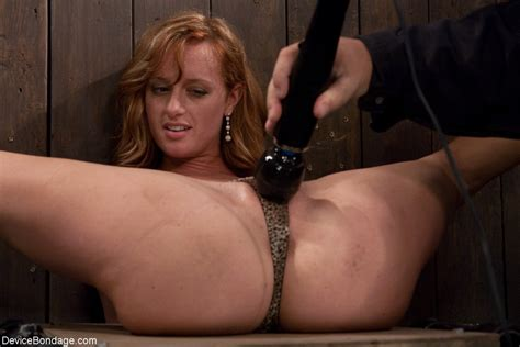 redhead ariel kink gets her nipples pussy and feet punished in the dungeon
