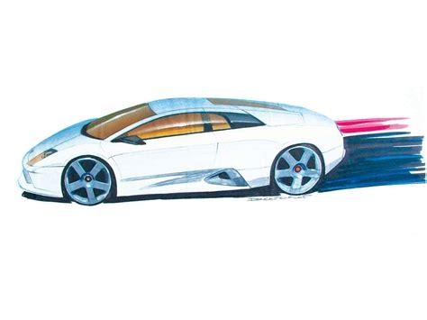 Lamborghini Murcielago Sketch (2002) - picture 7 of 18