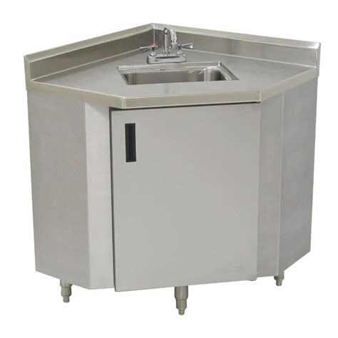 stainless steel corner sink advance tabco shk 1735 stainless steel corner sink cabinet