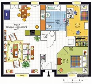 maison accessible 1 detail du plan de maison accessible With plan de maison 110m2 4 maison accessible detail du plan de maison accessible