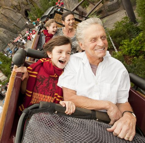 michael douglas calls fatherhood a quot gorgeous and wonderful feeling quot closer weekly