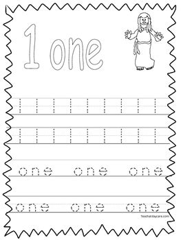 20 bible trace the numbers 1 20 worksheets preschool kdg 481 | original 2253916 1