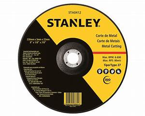 STANLEY POWER TOOLS ACCESSORIES ABRASIVES DISCS