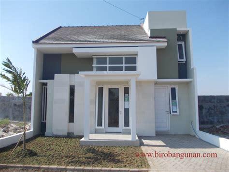 desain rumah mewah warna putih
