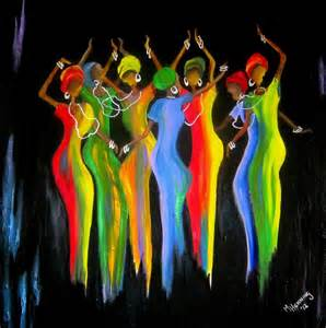 womens day celebrations in south africa2 painting by marietjie henning