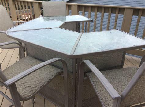 patio bar with 4 stools illinois 60041 ingleside 375