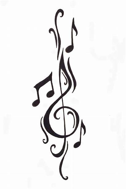 Notes Rose Clipart Clipartbest Note Tattoo Musical