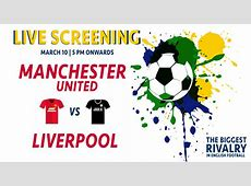 Book tickets to Live Screening Manchester United vs