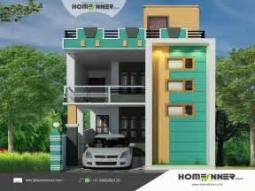 home designer architect tamil nadu style 3d house elevation design