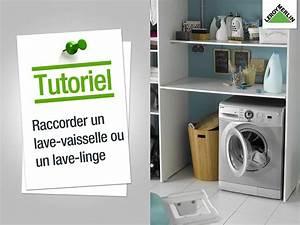 Brancher Un Lave Vaisselle : integrer machine a laver dans salle de bain le panier ~ Dailycaller-alerts.com Idées de Décoration