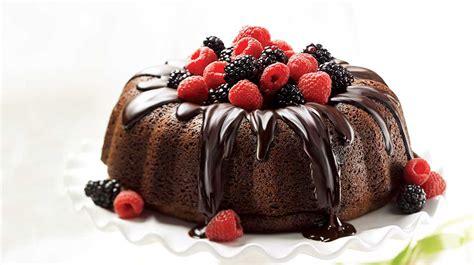 cuisine au thé couronne gourmande au chocolat noir recettes iga