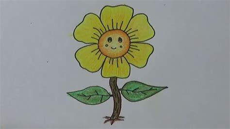 Cara menggambar anime dengan mudah untuk kamu yang masih pemula alabn. Mewarnai Sketsa Gambar Bunga Matahari Untuk Kolase Terbaru ...
