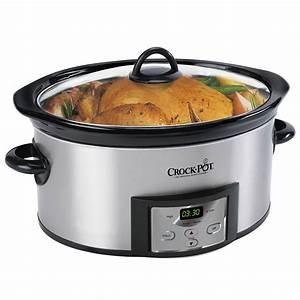 Crock-Pot® Countdown Digital Slow Cooker with Little ...  Quart