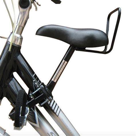 siege velo devant selle enfant pour vélo adulte en alu sur mes vélos hollandais