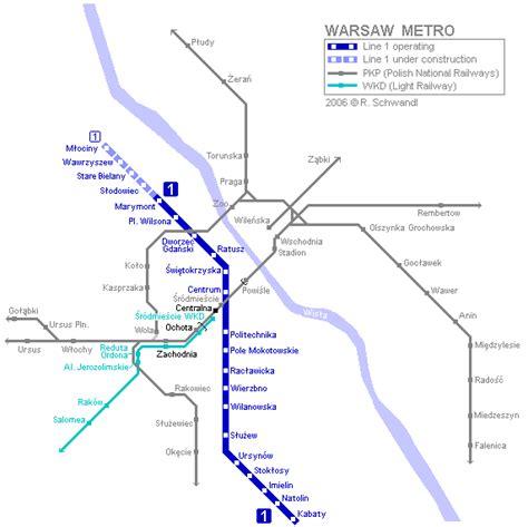 ouvrir chambre d hotes en varsovie carte du métro carte détaillée du