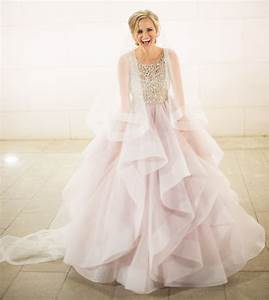 wedding color palette pretty pastel wedding trends With pastel pink wedding dress