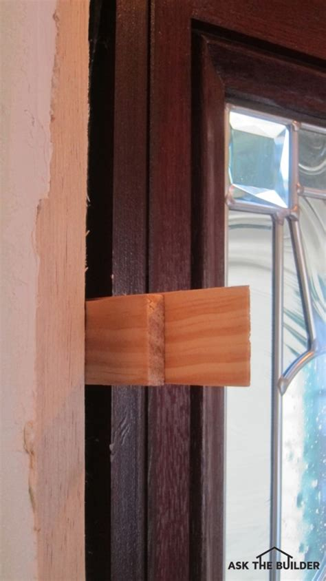 how to shim a door working with wood shims ask the builder