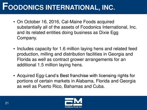 Cal-Maine Foods (CALM) Presents At The 22nd Annual ...