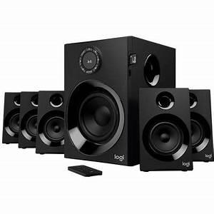 Pc Lautsprecher Bluetooth : logitech z607 5 1 pc lautsprecher bluetooth kabelgebunden 80 w schwarz kaufen ~ Watch28wear.com Haus und Dekorationen