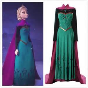 Frozen Elsa Coronation Dress Costume
