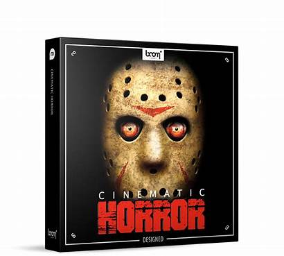 Horror Cinematic Library Sound Boom Effects Designed