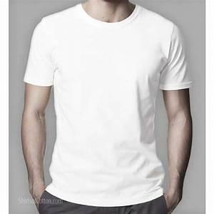 293920f7c972aa Perfect white crew neck T-shirt (crew) ShirtsofCotton