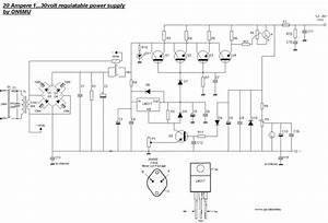 Linear Power Supply Wiring Diagram Laptop Battery Terminal