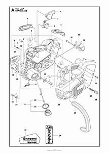 Husqvarna T536 Lixp Parts Diagram For Crankcase