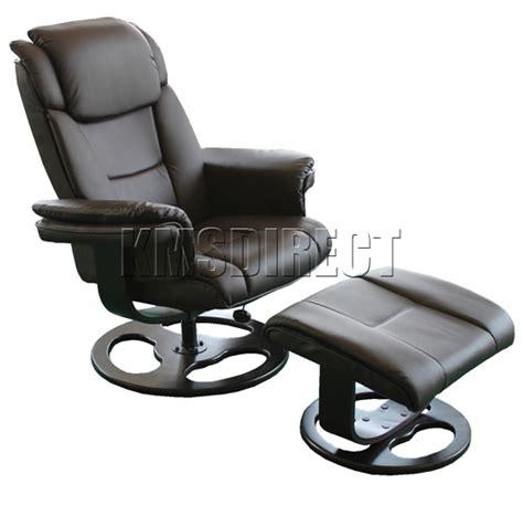 luxury houston brown faux leather swivel office recliner