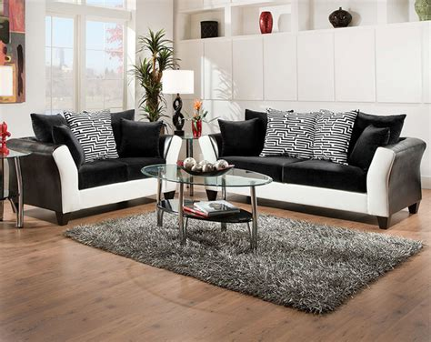 American Freight Sofa Tables by Zigzag Sofa And Loveseat Set Modern Living Room