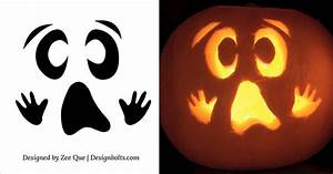 15 free printable scary halloween pumpkin carving stencils patterns ideas 2015 for Ghost carving pumpkin patterns