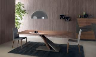 designer holztische design tisch aus furnierter metall für küche idfdesign