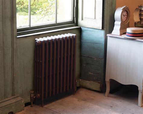 victorian  column cast iron radiator mm tall