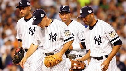 Alex Yankees Rodriguez Jeter Derek Greats Mlb