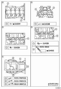 Toyota Prius Spacer  Cylinder Block Water Jacket  Engine