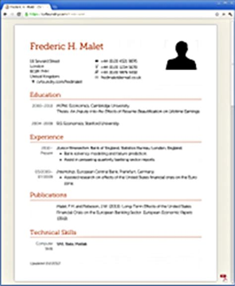 Resume Features by Resume At A Glance Thesisjustification Web Fc2