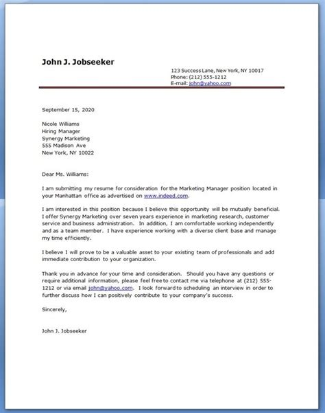 17 best ideas about resume cover letter exles on