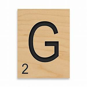 Buy game tile letter quotgquot wall art from bed bath beyond for Letter g wall art