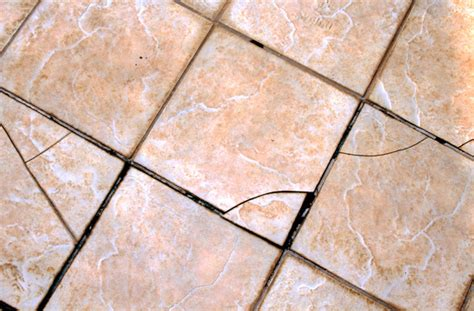 what do you do when your tile is cracked colorado pro