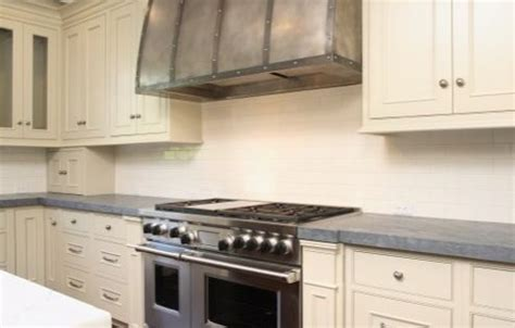 shaker kitchen cabinet large kitchen with barrel range with forged iron 2169