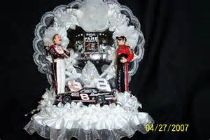 fireman wedding cake topper nascar dale earnhardt jr and sr wedding cake topper by