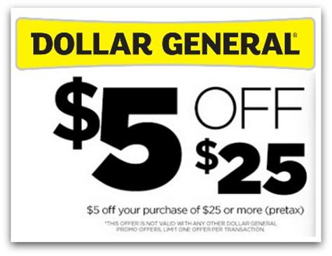 dollar general    purchase coupon  today
