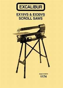 Excalibur Ex19vs  U0026 Ex30vs 19 U0026quot   U0026 30 U0026quot  Variable Speed Scroll