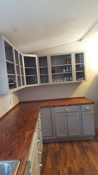 Plywood countertops    poate tati?   Pinte