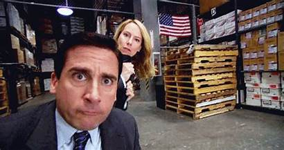 Office Holly Michael Gifs Scott Soup Snakes
