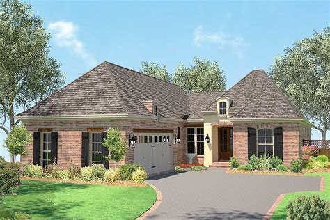 narrow lot acadian house plan hz architectural